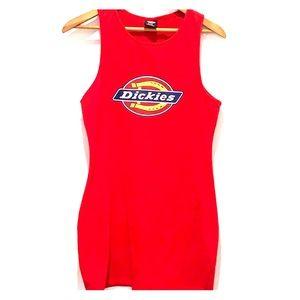 Size large Dickies t-shirt dress